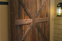 Barn Doors / Reclaimed Wood