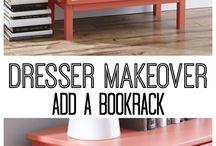 BEDROOM DRESSER IDEAS / by Missey Botts