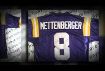 18 USD Cheap replica NCAA FootBall Jersey LSU Tigers 8 Zach Mettenberger  Jersey Wholesale