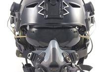 Helmen / Sci fi helmen