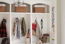 Coat and shoe storage