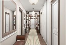 Interiors: corridor / by Vera Voit