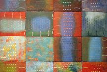 Collagraph / Collagraphs by printmakers based in the UK