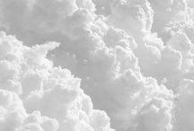 cloud gazing / collection of clouds / by Annihka Pins