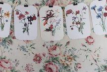 Vintage blomster