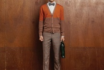 handsomely dressed / lighter colors, more wearable, daily style, anyone can pull this off