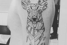 deer tatto