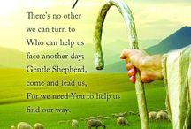 Jesus the good shepherd