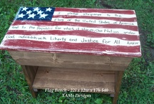 TAMsDeSigns - formerly Simply Country Wood DeSigns / Decorating Your Life - One Handcrafted Project At A Time! - Click the link through the picture to go to my site and order any of these signs - Everything on this can be custom ordered to match your decor needs!!