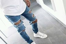 Ripped and Distressed Denim