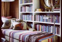 Libreros. / Ideas de librería para la casa.