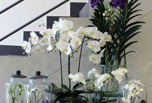 Silk Flower Arrangements / The finest quality Silk Flowers set in artificial water