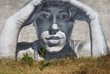 street art / sometimes its on a wall! / by Epiphany Coleman