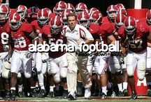 Alabama football #1 / by Elizabeth Hammack-Wakefield