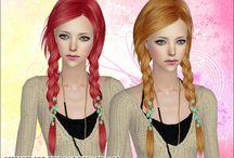 Sims2 hair