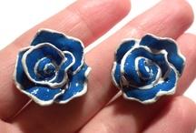 earrings (modeling clay)
