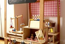 The Little Shop / Kids fitness classes, personal training, gourmet homemade Icecream and other items, meal in a jar, food and organic juice delivery, one of a kind items.. / by Mariela Brasil