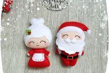 Xmas decorations to sew