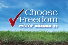 Stop Agenda 21 / Agenda 21 seeks for the government to curtail your freedom to travel as you please, own a gas-powered car, live in suburbs or rural areas, and raise a family. Furthermore, it would eliminate your private property rights through eminent domain. Agenda 21 can be stopped at the local level by organizing and informing others!