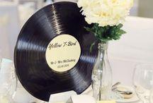 50s wedding theme