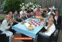Verjaardagsfeest idee. Koken met Kookpaarty! / Op zoek naar een leuk en origineel idee voor een verjaardag? Boek de Kookparty aan huis, gezellig samen koken en lekker eten. Kijk voor meer informatie op www.kookparty.com