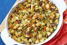 holiday cooking / Main and side dishes plus desserts