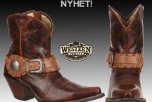 Cowgirl Boots / Cowgirl Boots fra leverandører som Durango, Tony Lama og Black Star Boots.