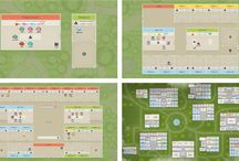 Virtual Offices Maps & Sizes / Sococo customers have teams that come in all shapes and sizes. Choose the office layout that works best for your team, department or company.  / by Sococo