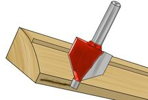 Using routers / Using router cutters for various woodworking tasks