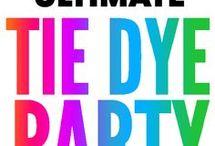 Tie dye patterns & ideas