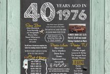 40 cumpleañoss