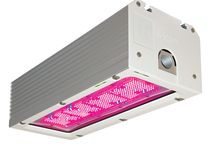 OREON GROW LIGHT 2.1 / Lemnis Oreon produces and develops very efficient and sustainable LED fixtures, especially for the greenhouse horticultural industry. The unique water-cooled concept ensures the LED's and electronics are continuously cooled, irrespective of the ambient temperature in the greenhouse. This allows the lamp to always enjoy optimal performance, whilst also extending the life of the components. Plus the lamp housing is made from top quality and robust materials, which also results in a very long life.