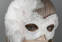 Hand Made Masquerade Masks / Beautiful Handmade in the USA Masquerade Masks, high quality and attention to detail. Available at MardiGrasPartySales.com
