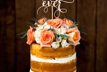 Naked Wedding Cake Inspiration