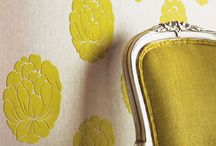 Flocking Around the House / Textiles, printed materials and more may feature the soft nubby texture of flocking.