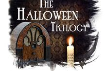 THE HALLOWEEN TRILOGY (2016) / In one chilling evening, three classic, spine-tingling stories of the supernatural will unfold right before your very eyes. Recalling elements of an old-time radio show, brave audience members will scream with delight as actors both perform and create the sound effects for each terrifying tale. RUNNING: June 9-12, 2016. / by Quincy Community Theatre