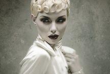 High fashion makeup & hair