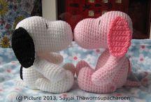 Crochet - amigurumi/animals / by Tecia Grover