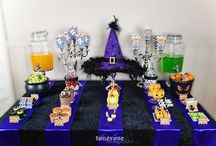 Halloween  | Sweets  |  Sweet table  |  Dessertbord  |  Inspirasjon