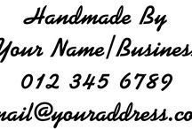 Custom Made Personalised Stamps