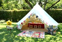 KIDS  ROCK SUMMER by Lucky You Events / Pop-up tent for wedding kids corner and birthday parties !