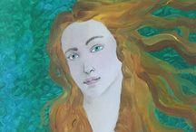 Meine Bilder  / Ölfarben; Oil paint; Масляные краски; Ελαιοχρώματα;