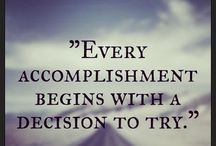 Motivational's  / Get a little inspiration and motivation in your life!