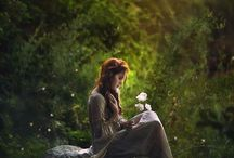 Enchanted / Dreamy historical or fairy tale style images
