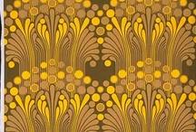 colours: gold + brown / rich warm tones