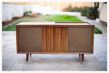Vintage Home / Ideas for decorating your home in a Retro or Vintage style.