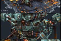 Mech, Robot, Battlesuit