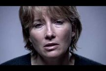 EMMA THOMPSON SUPPOSRTING CHARITYS  / SOME OF THESE ADDS ARE FANTASTIC TO GET THE WORD ACROSS