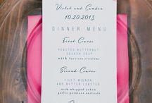 wedding invitations + paper goods