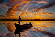sunsets / by Nancy Dunn